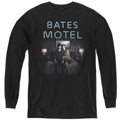 Image for Bates Motel Youth Long Sleeve T-Shirt - Motel Room