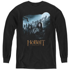 Image for The Hobbit Youth Long Sleeve T-Shirt - A Journey