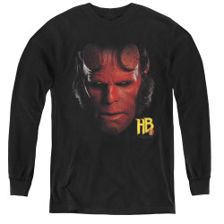 Image for Hellboy II Youth Long Sleeve T-Shirt - Head
