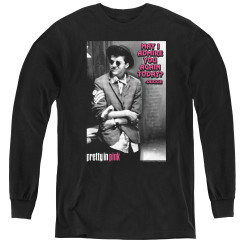 Image for Pretty in Pink Youth Long Sleeve T-Shirt - Admire