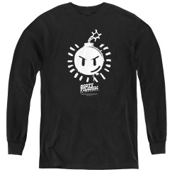 Image for Scott Pilgrim vs. The World Youth Long Sleeve T-Shirt - Sex Bob-omb Logo
