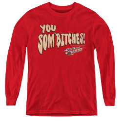 Image for Smokey and the Bandit Youth Long Sleeve T-Shirt - Sombitch