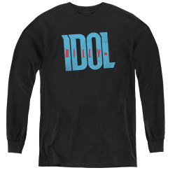 Image for Billy Idol Youth Long Sleeve T-Shirt - Logo