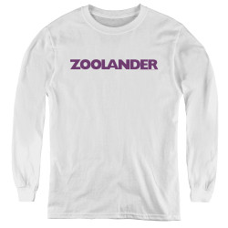 Image for Zoolander Youth Long Sleeve T-Shirt - Logo