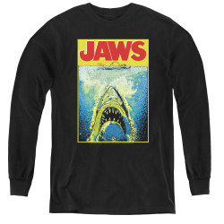 Image for Jaws Youth Long Sleeve T-Shirt - Bright Jaws