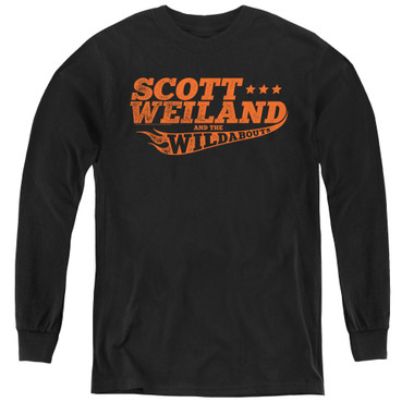 Image for Scott Weiland Youth Long Sleeve T-Shirt - Logo