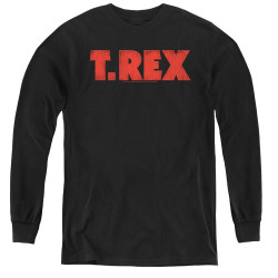 Image for T Rex Youth Long Sleeve T-Shirt - Logo