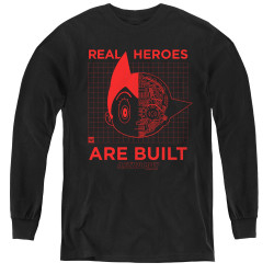 Image for Astro Boy Youth Long Sleeve T-Shirt - Real Hero
