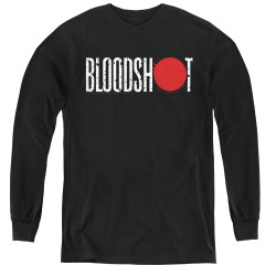 Image for Bloodshot Youth Long Sleeve T-Shirt - Logo