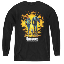 Image for Quantum and Woody Youth Long Sleeve T-Shirt - Explosion