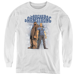 Image for Archer & Armstrong Youth Long Sleeve T-Shirt - Two Against All