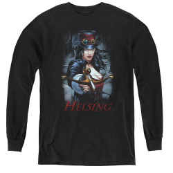 Image for Zenescope Youth Long Sleeve T-Shirt - Helsing