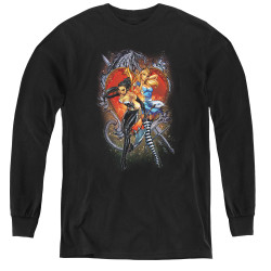Image for Zenescope Youth Long Sleeve T-Shirt - Heart