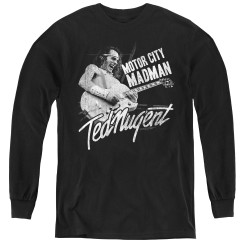 Image for Ted Nugent Youth Long Sleeve T-Shirt - Madman