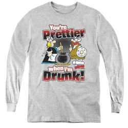 Image for Hagar The Horrible Youth Long Sleeve T-Shirt - Pretty