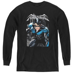 Image for Batman Youth Long Sleeve T-Shirt - A Legacy
