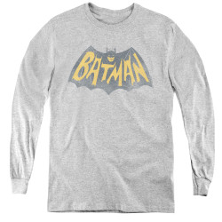 Image for Batman Classic TV Youth Long Sleeve T-Shirt - Show Logo