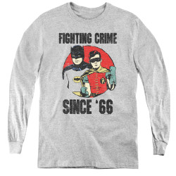 Image for Batman Classic TV Youth Long Sleeve T-Shirt - Since 66