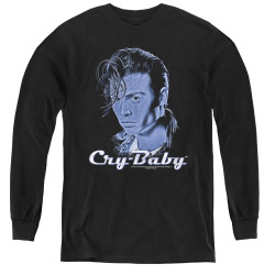 Image for Cry Baby Youth Long Sleeve T-Shirt - King Cry Baby