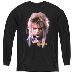 Image for Labyrinth Youth Long Sleeve T-Shirt - Goblin King