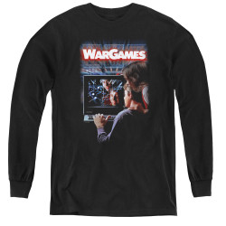 Image for Wargames Youth Long Sleeve T-Shirt - Poster
