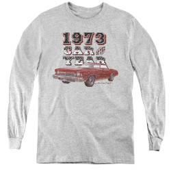Image for Chevy Youth Long Sleeve T-Shirt - Car of the Year