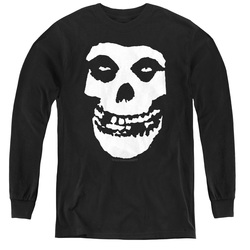 Image for The Misfits Youth Long Sleeve T-Shirt - Fiend Skull