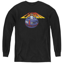 Image for Atari Youth Long Sleeve T-Shirt - Lunar Lander Globe