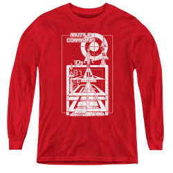 Image for Atari Youth Long Sleeve T-Shirt - Missile Command Lift Off