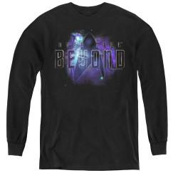 Image for Star Trek Beyond Youth Long Sleeve T-Shirt - Galaxy Logo