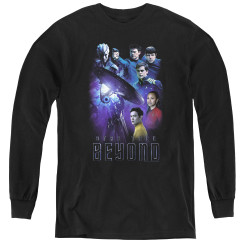 Image for Star Trek Beyond Youth Long Sleeve T-Shirt - Cast