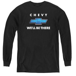 Image for General Motors Youth Long Sleeve T-Shirt - We'll Be There
