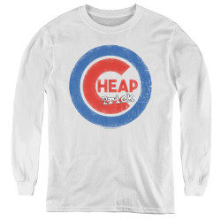 Image for Cheap Trick Youth Long Sleeve T-Shirt - Cheap Cub Logo