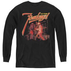 Image for ZZ Top Youth Long Sleeve T-Shirt - Fandango!