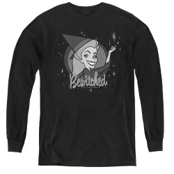 Image for Bewitched Youth Long Sleeve T-Shirt - Snap