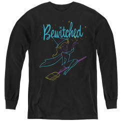 Image for Bewitched Youth Long Sleeve T-Shirt - Neon Lines