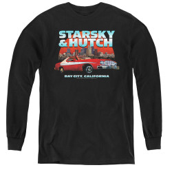 Image for Starsky & Hutch Youth Long Sleeve T-Shirt - Bay City
