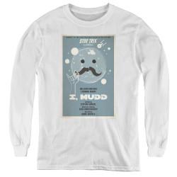 Image for Star Trek Juan Ortiz Episode Poster Youth Long Sleeve T-Shirt - Ep. 37 I, Mudd