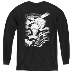 Image for Bleach Youth Long Sleeve T-Shirt - Swords