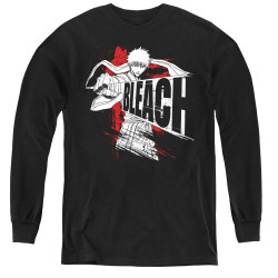 Image for Bleach Youth Long Sleeve T-Shirt - Sword Drawn
