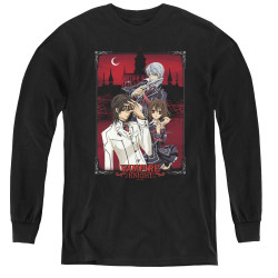 Image for Vampire Knight Youth Long Sleeve T-Shirt - Castle Pose