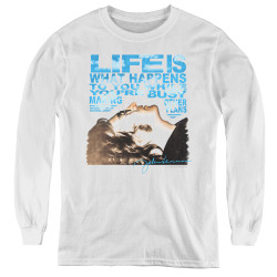 Image for John Lennon Youth Long Sleeve T-Shirt - Other Plans