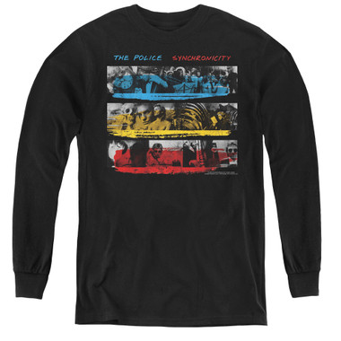 Image for The Police Youth Long Sleeve T-Shirt - Syncronicity