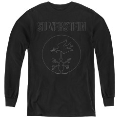 Image for Silverstein Youth Long Sleeve T-Shirt - Contour