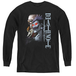 Image for Death Note Youth Long Sleeve T-Shirt - Shinigami