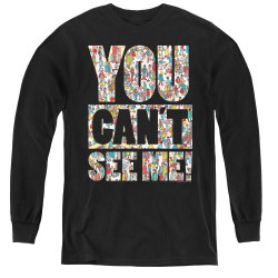Image for Where's Waldo Youth Long Sleeve T-Shirt - See Me