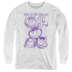 Image for Where the Wild Things Are Youth Long Sleeve T-Shirt - Wild Sketch