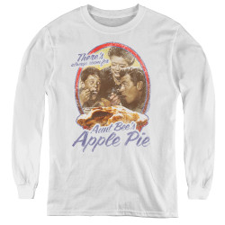 Image for Andy Griffith Show Youth Long Sleeve T-Shirt - Apple Pie