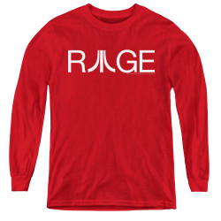 Image for Atari Youth Long Sleeve T-Shirt - Rage Logo