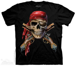 Image for The Mountain T-Shirt - Skull & Muskets